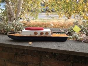 Eliza's boat