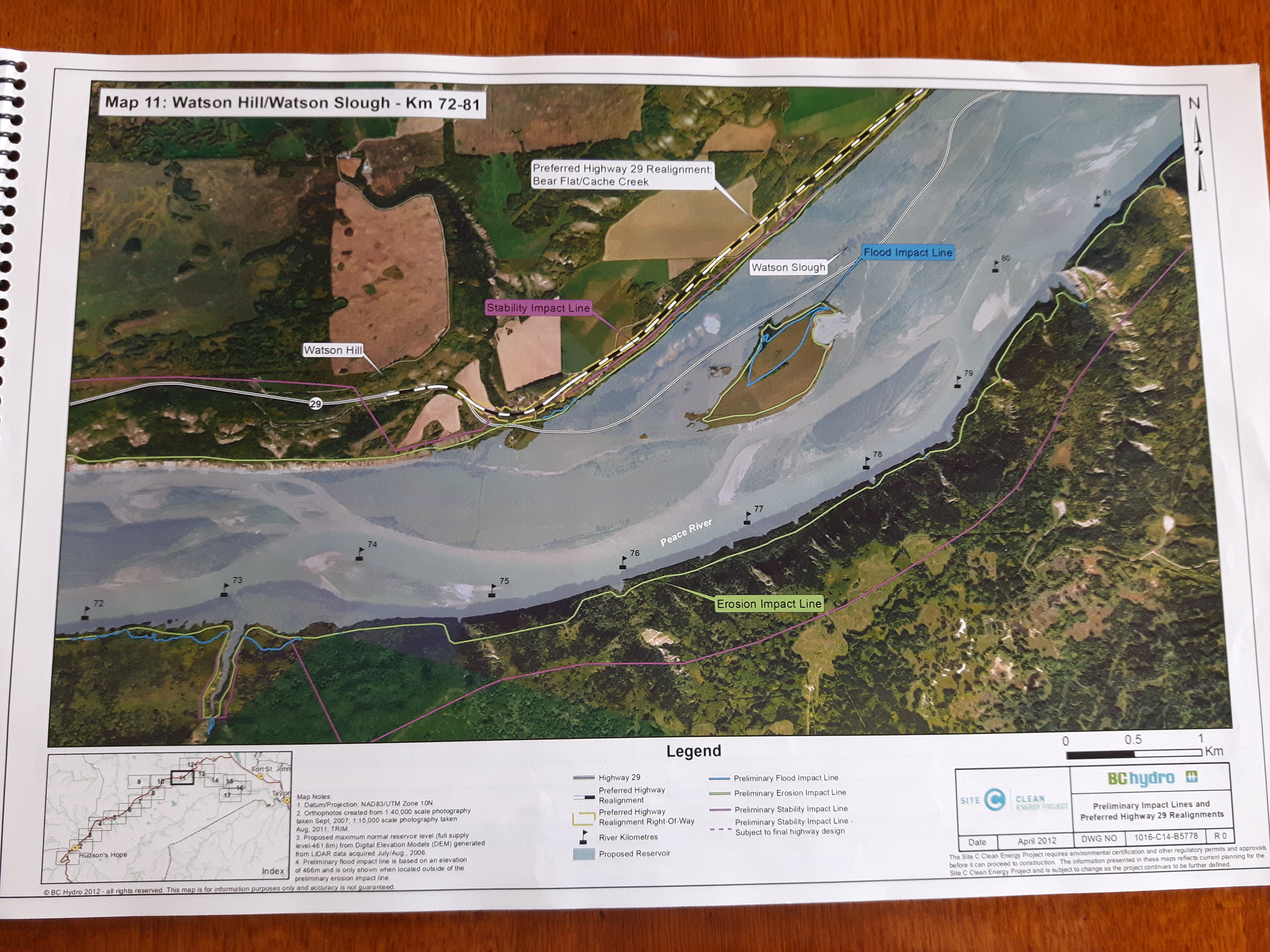 Site C impacting alot more land than you think | Keep the